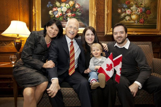 Jack Layton & Family